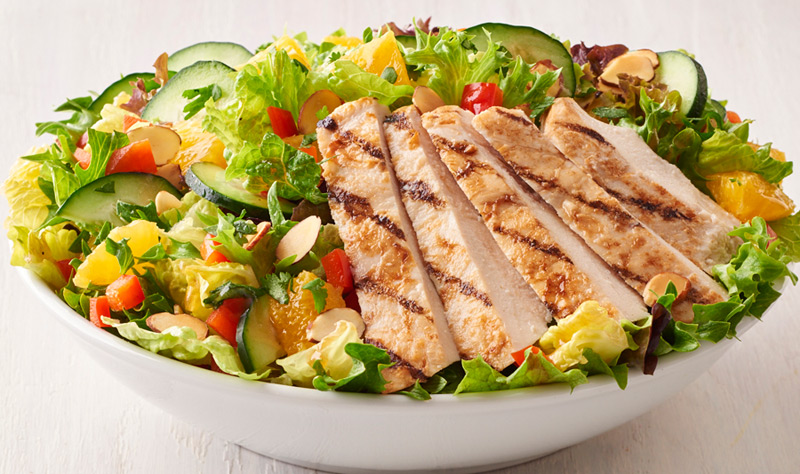 Asian Chicken Salad (contains nuts)