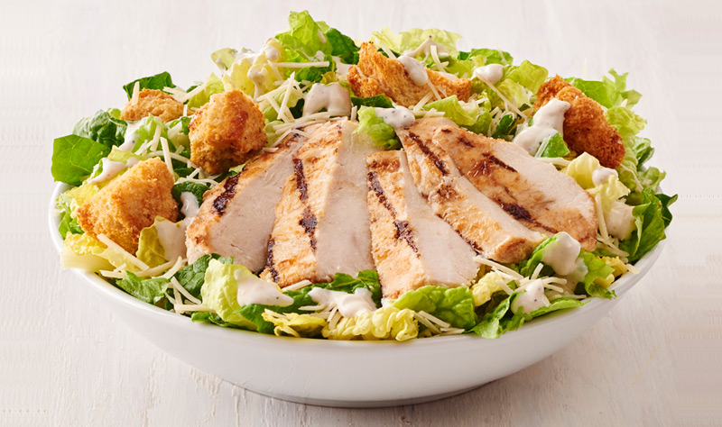 Chicken Caesar Salad (contains anchovy)
